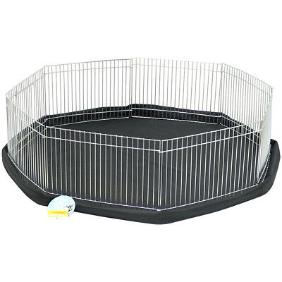 Me & My Small Pet Playpen Cage & Floor Mat Rabbit/guinea Pig/hamster Garden Run