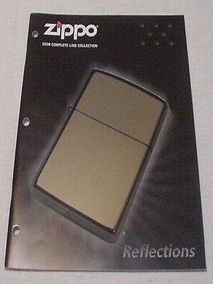2008 Zippo Collection Catalog New Never Used