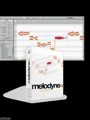 New Celemony Melodyne Assistant 4 Upgrade from Essential Mac PC AAX VST AU RTAS