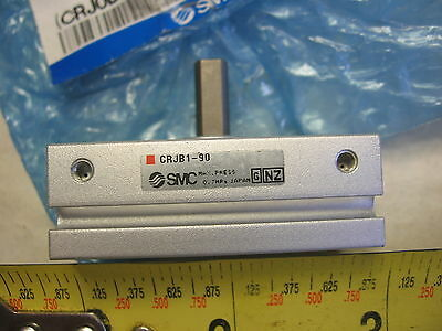 SMC CRJB1-90 Pneumatic Adjustable Mini Rack & Pinion 90 Degree Rotary Actuator