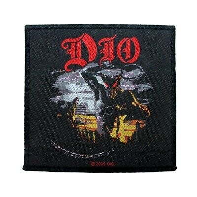 """""""Dio"""" Murray Heavy Metal Band Mascot Ronnie James Music Sew On Applique Patch"""