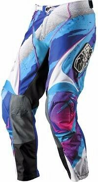 Answer Racing A11 Alpha Riding MX Offroad Pants 34 Shred Blue NEW  -  Braap
