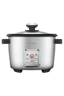 NEW Breville BRC550SIL The MultiGrain Rice Cooker: Silver