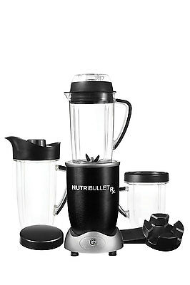 NEW N17-001 Nutribullet RX 1700 watt Superfood Nutrition Extractor: Black