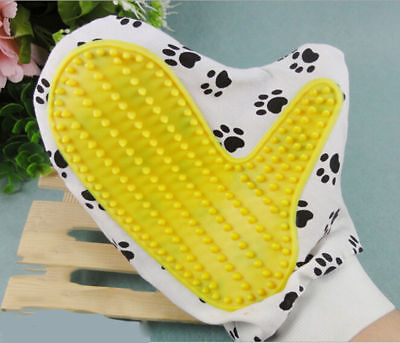 Pet Brush Touch Grooming Massage Hair Removal Bath Brush Glove Dog Cat Hair Comb