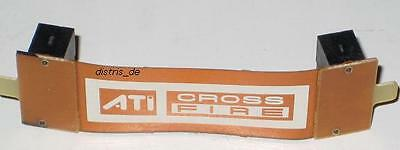 ATI CrossFire Bridge Brücke flex Cross Fire 7cm flexibel NEU OVP MSI XFX Palit