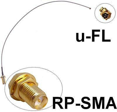 Antennen Adapter Kabel RPSMA u-FL Wlan Speedport Fritz!Box Pigtail Ipex RSMA NEU