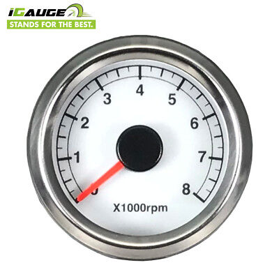 Taiwan Made 48mm 0-8000 RPM Electrical Motorcycle Tachometer