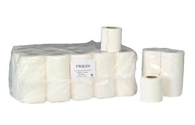 2 Ply White Toilet rolls 320 Sheets per roll 40 Rolls per Pack, (PP109)
