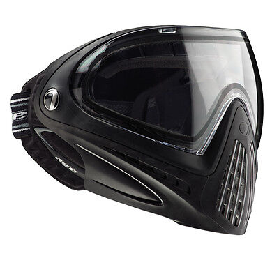 Dye I4 Paintball Goggle Mask Black New Thermal