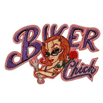 HELL RIDE EMBROIDERED PATCH sew or iron biker P-368 devil novelty bikers items