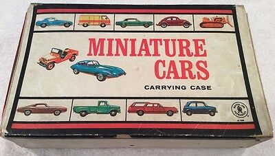 Mattel Inc. Toymakers Miniature Cars Carrying Case, cars 1966 #5015 Hot Wheels