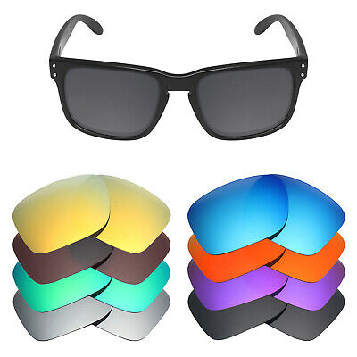 MRY POLARIZED Replacement Lenses for-Oakley Holbrook Sunglasses  - Option Colors