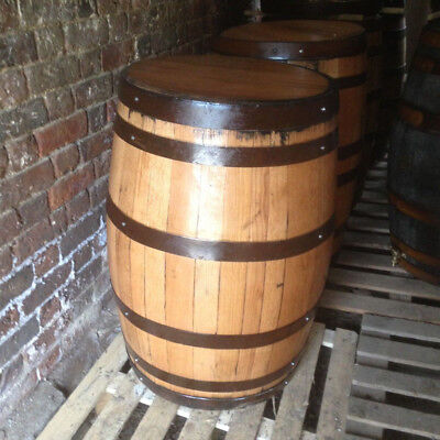 Recycled 200L Solid Oak Whisky Barrels. Great for tables indoor/outdoor