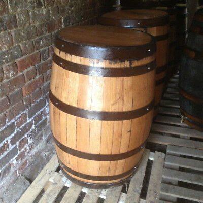 Recycled 200L Solid Oak Whisky Barrels. Great for tables indoor | outdoor