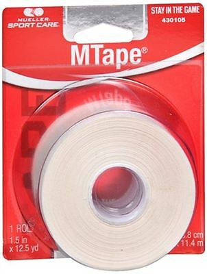 Mueller Sport Care Athletic M Tape White [430105] 1 Each
