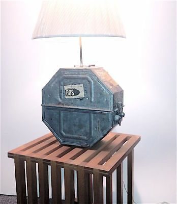 Antique movie film 35mm shipping container LAMP Perfect decor 4 your home or ofc