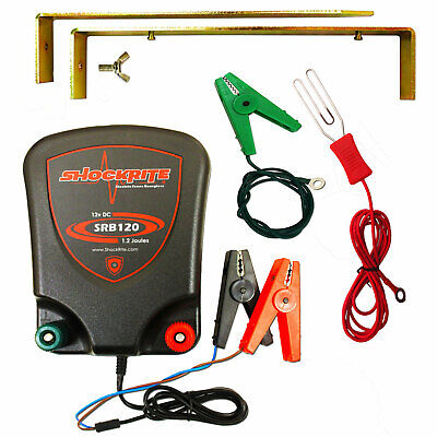 Electric Fence 12v Energiser ShockRite SRB120 1.2J - 3 YEAR WARRANTY