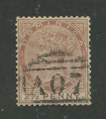 Dominica #6 Used Vf
