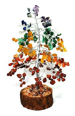 Reiki Energy Charged Seven Chakra Crystal Types Gemstones Tree Healing 100710