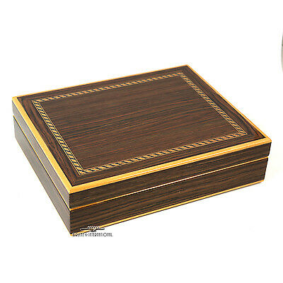 Agresti Polished Ebony 30 Cigar Humidor (Model# 790) - Brand New/Unused