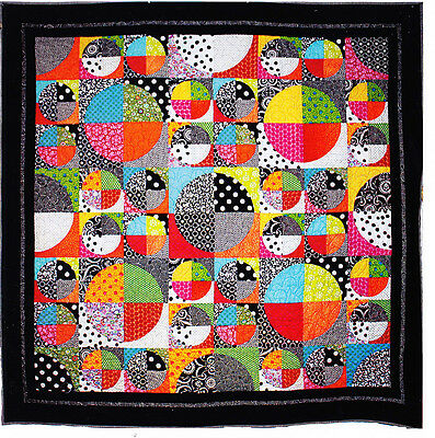 Optical Quilt - modern pieced quilt PATTERN - Emma Jean Janson