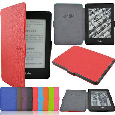 Fashion Ultra Slim Magnetic Leather Smart Case Cover For Kindle Paperwhite 1/2/3