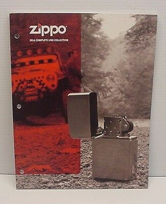 2014 Zippo Collection Catalog New Never Used