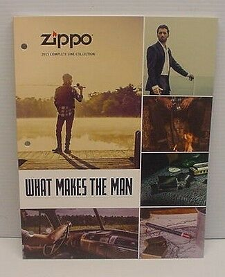 2015 Zippo Collection Catalog New Never Used