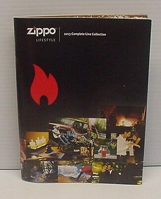 2013 Zippo Collection Mini Catalog New Never Used