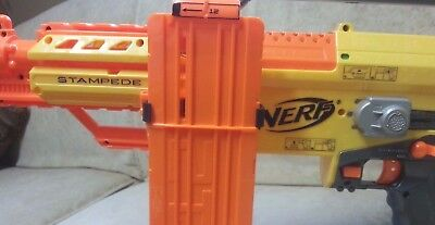 Spare Single Clip Magazine Mount for Nerf Dart Gun Blaster. Custom 3D