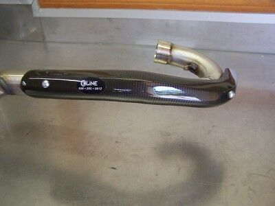 Moose Racing By Eline Pipe Guard Fits Stock For KTM 350 EXC 12-16