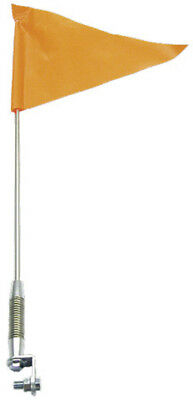 SNO Stuff 115-711 Flag with Telescoping Pole Stainless Steel/Vinyl