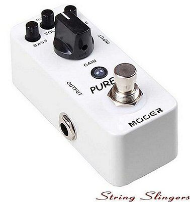 Mooer Micro Compact 'Pure Boost' Boost Effects Pedal, MBT2
