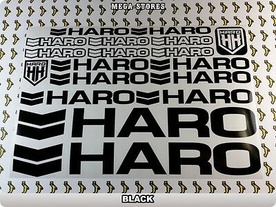 HARO Stickers Decals Bicycles Bikes Cycles Frames Forks Mountain MTB BMX 58H