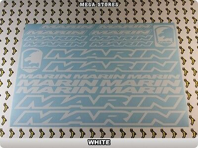 MARIN Stickers Decals Bicycles Bikes Cycles Frames Forks Mountain MTB BMX 58TB