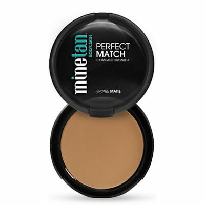 Mine Tan Perfect Match Bronzer 14g Matte Bronze Tanning Make Up Body Skin