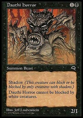 2x Trapper Dauthi Dauthi Trapper MTG MAGIC SH Stronghold Eng//Ita