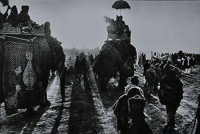 Marilyn Silverstone Kunstdruck Photo Print 42x30 Kumbh Mela Festival India 1960
