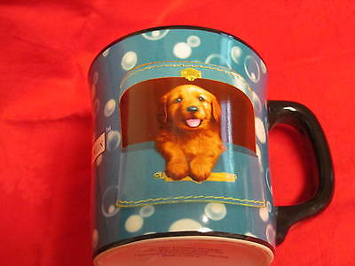 Keith Kimberlin 8oz Mug, Golden Retriever in Cosmetic Travel Case,Encore Group