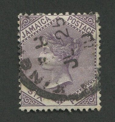 Jamaica #51 Used F/vf