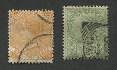 Jamaica #23, 25 Used