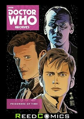 DOCTOR WHO PRISONERS OF TIME GRAPHIC NOVEL New Paperback Collects Issues #1-12