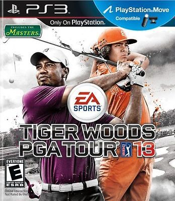 BRAND NEW Sealed Tiger Woods PGA Tour 13 (Sony PlayStation 3, 2012)