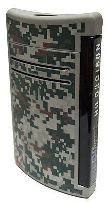 S.T. Dupont MaxiJet Torch Lighter, Camo Pattern 20158N (020158N) New In Box