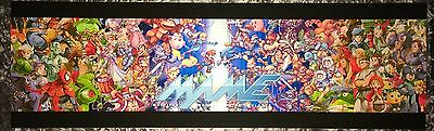 "Mame New Age Arcade Marquee 26""x8"""