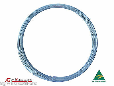 Plain Fence Wire - 2.5Mm X 250M Medium Tensile. Fencing Electric Energiser