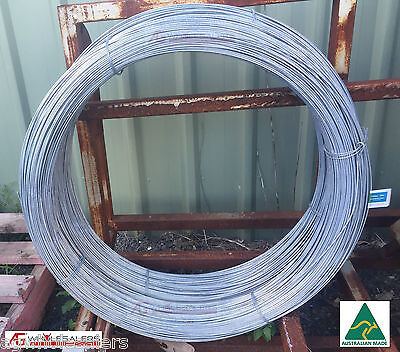 Plain Fence Wire - 3.15Mm X 750M Soft Tensile. Fencing Electric Energiser