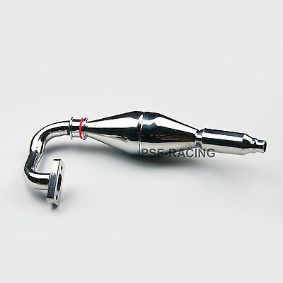 1/5 RC Car Tuned Exhaust Pipe for FG Monster FG Truck Buggy