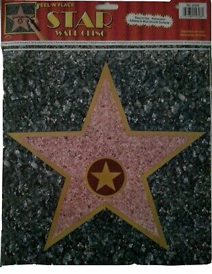 Hollywood Walk of Fame Sticker XL Aufkleber Wandtattoo neu new Stern Star USA
